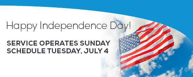 July 4th Holiday Service