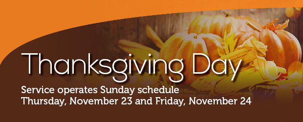 2017 Thanksgiving Holiday Service