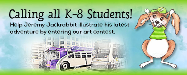 Jeremy Jackrabbit Art Contest