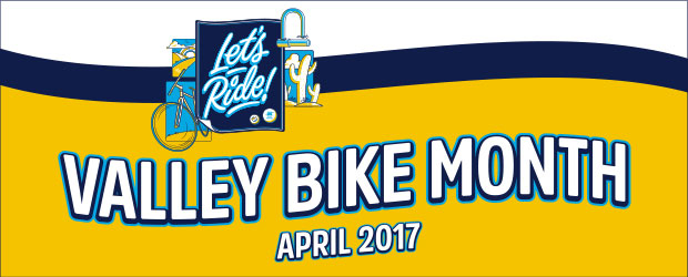 Valley Bike Month Banner