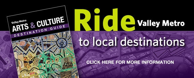 Ride Valley Metro to local destinations