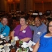 Guests enjoying the luncheon.