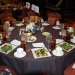 Table setting at the luncheon.