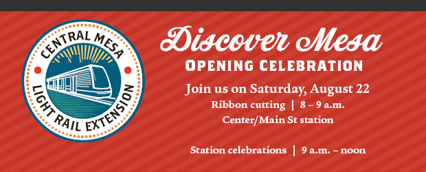 Join us for opening celebration on Saturday, August 22 at Center/Main