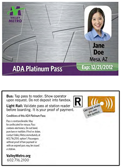 ADA Platinum Pass card image