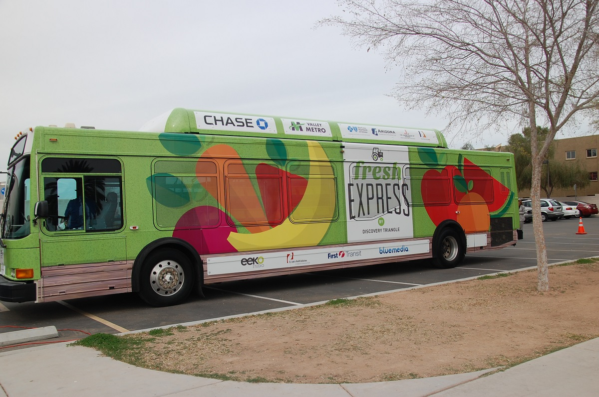 Fresh Express Bus