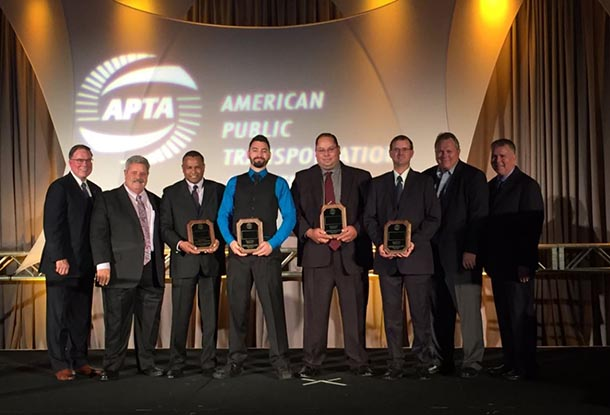 Valley Metro Maintenance Team Wins Second at APTA Rail Rodeo