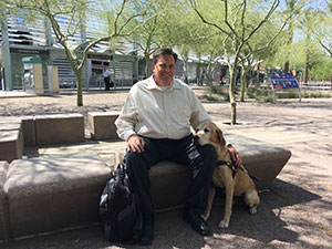 Ron Brooks, Valley Metro's Accessible Transit Service Manager