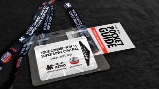 Super Bowl XLIX Commemorative Pass