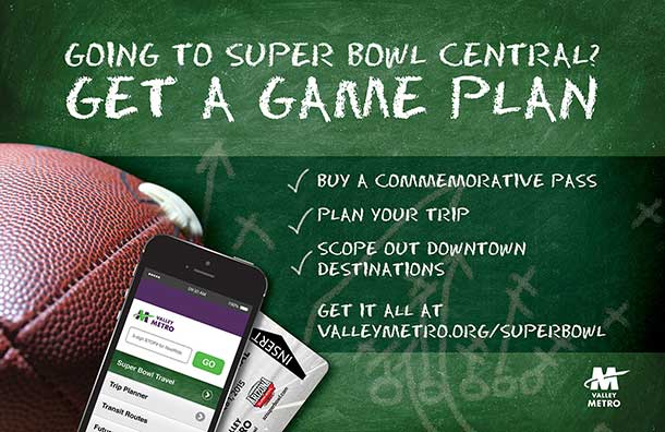 Valley Metro Super Bowl Service