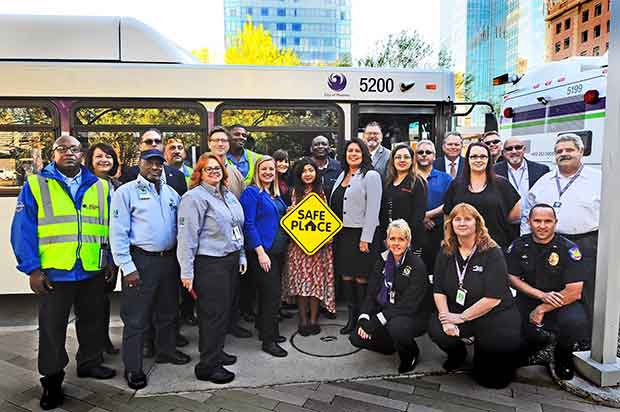 Valley Metro designates 900 buses as Safe Places