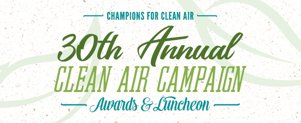 2017 Champions for Clean Air - Clean Air Campaign Awards
