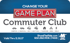2016-17 Commuter Club Card Image