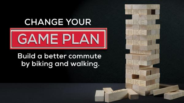 Build a better commute by changing your game plan and biking or walking