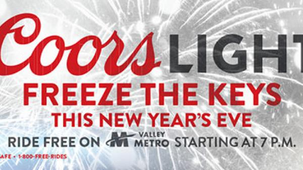 Coors Light Free Rides Logo