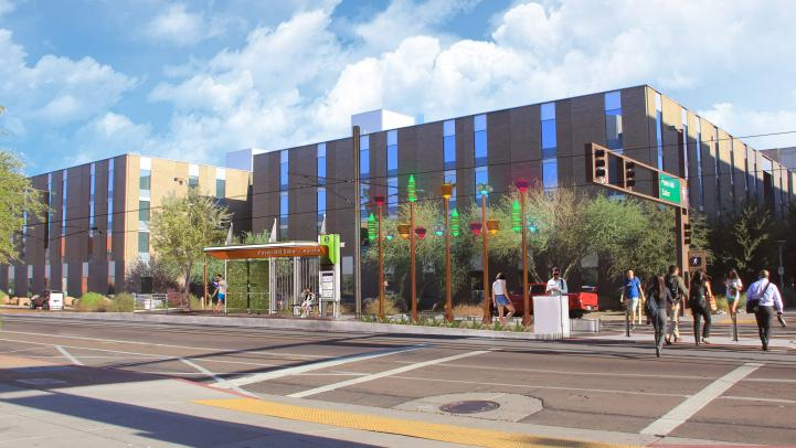 Paseo Del Saber and Apache Blvd stop rendering
