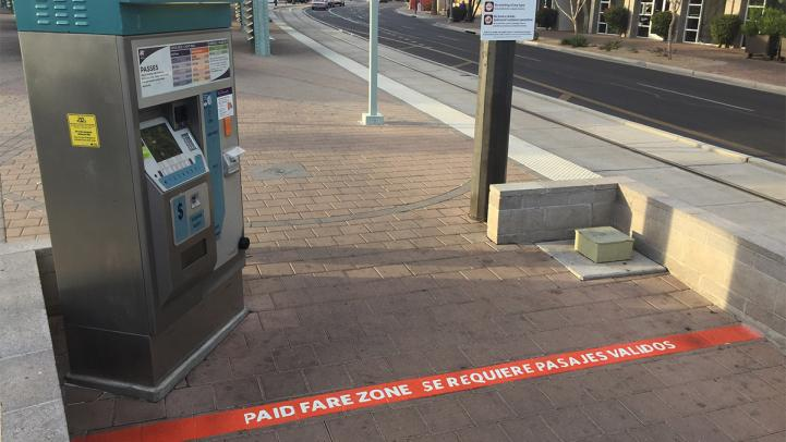 Paid Fare Zone