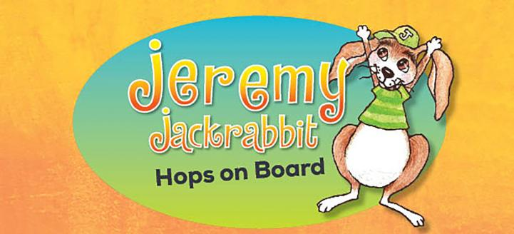 Jeremy Jackrabbit Hops on Board