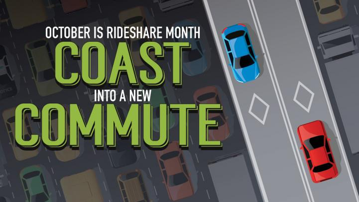 2018 Rideshare Month Graphic