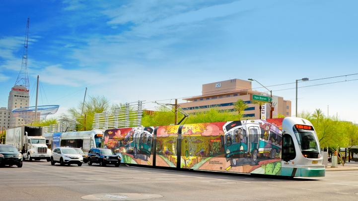 2019 Design a Transit Wrap train