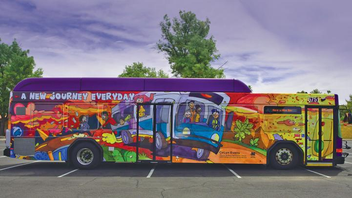 2019 Design a Transit Wrap bus