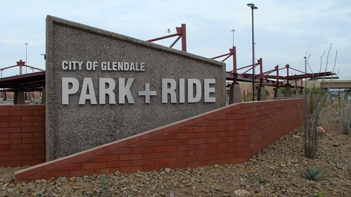 photo of the Glendale park-and-ride