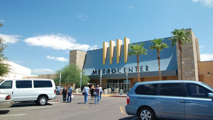 front entrance of Metrocenter Mall
