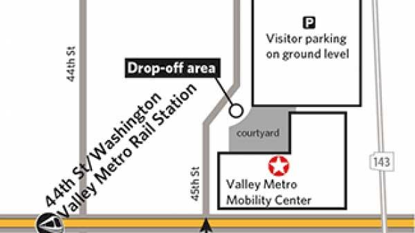 Mobility Center map