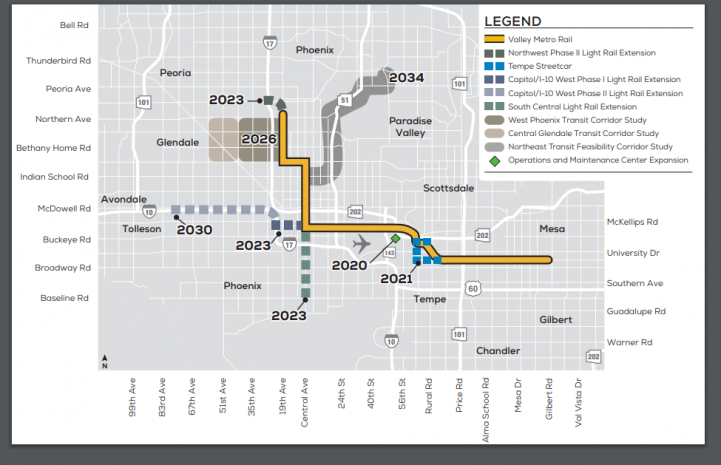 Valley Metro extends light rail to South Phoenix