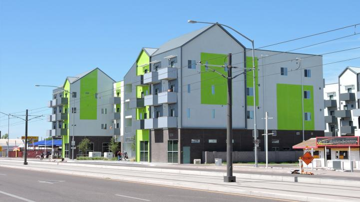 Transit Oriented Development Picture of Buildings