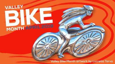 2019 Valley Bike Month Image
