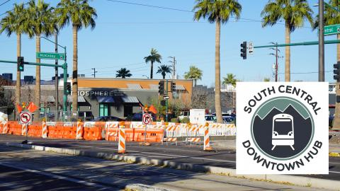 South Central Downtown Hub construction app