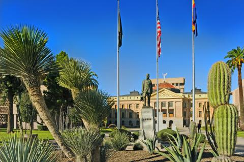 Exterior of Arizona State Capitol