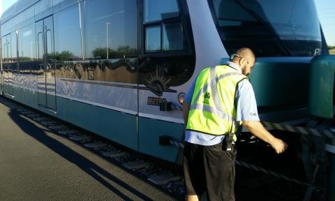 Valley Metro Train Inspection
