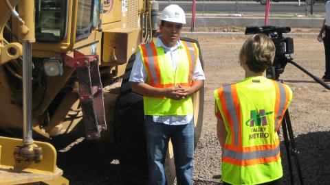 Northwest Extension construction interview with CM Valenzuela