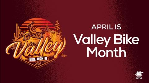 Valley Bike Month in April