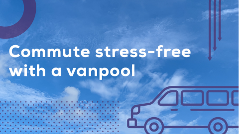 Commute stress-free with a vanpool