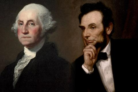 washington and lincoln presidents