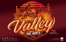 Valley Bike Month 2020 Poster