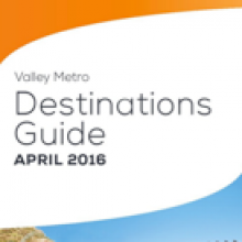 Bus and Light Rail Destinations Guide brochure preview