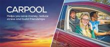 Carpool: Helps you save money, reduce stress and build friendships