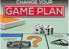 game plan poster bus rail thumbnail