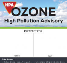 """Ozone HPA Notice"" Dry Erase Poster thumbnail"
