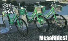 City of Mesa bike map
