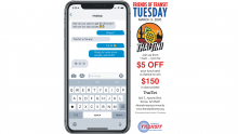 $5 off lunch at ThaiTini March 3, 2020.  Sponsored by Friends of Transit
