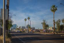 South Central Phoenix streets.
