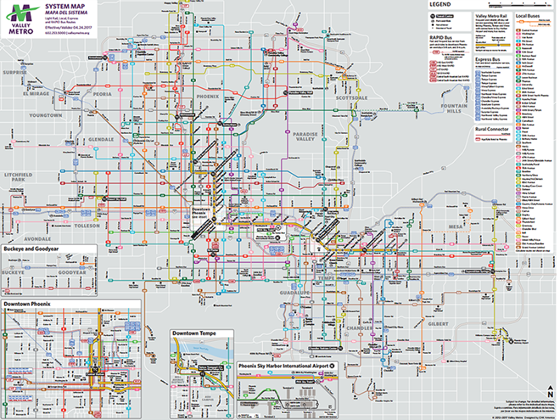 Valley Metro Map Marketing Materials Order Form | Valley Metro